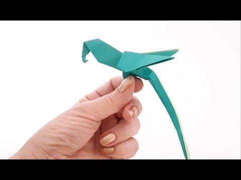 Origami Paper Art - How to Make a Macaw Parrot 🐦DIY🐦 Arara de Origami (All Paper Art)