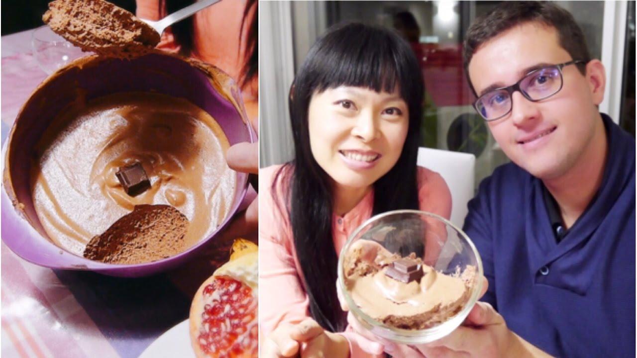 Recette Vegan Mousse Au Chocolat Jus De Pois Chiche Youtube