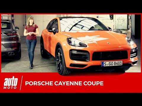 Porsche Cayenne Coupé: le BMW X6 en ligne de mire