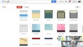 Şimdi yeni bir Google site bir GAFE oluşturmak için