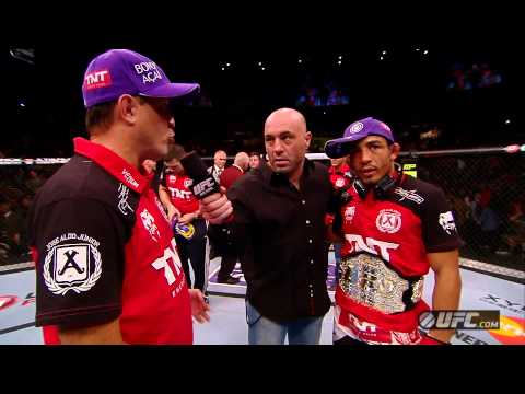 UFC 156: Aldo & Edgar Octagon Interviews
