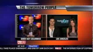 The Tomorrow People Interview with Robbie Amell Peyton List