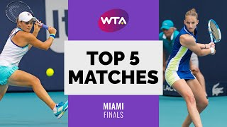 Miami | Top 5 Final Matches