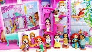 Disney Princess Pop-Up Palace and Deluxe Figurine Doll Set Animators