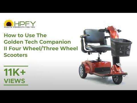 Golden Tech Companion II Four Wheel/II Three Wheel Scooter