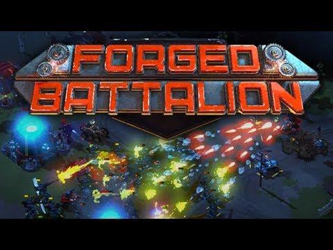 Forged Battalion - Build Your Own War Machine
