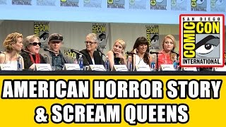 American Horror Story Hotel & Scream Queens Comic Con Panel