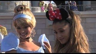 Download Singer Ariana Grande 21st Birthday at Walt Disney World Magic Kingdom MP3 song and Music Video