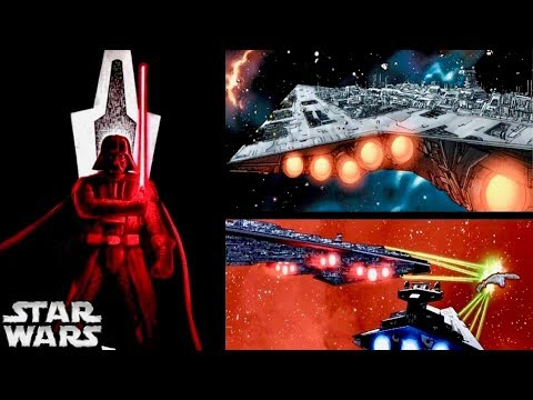 How Vader Revealed the EXECUTOR Super Star Destroyer to the Rebellion! (Legends vs. Canon)
