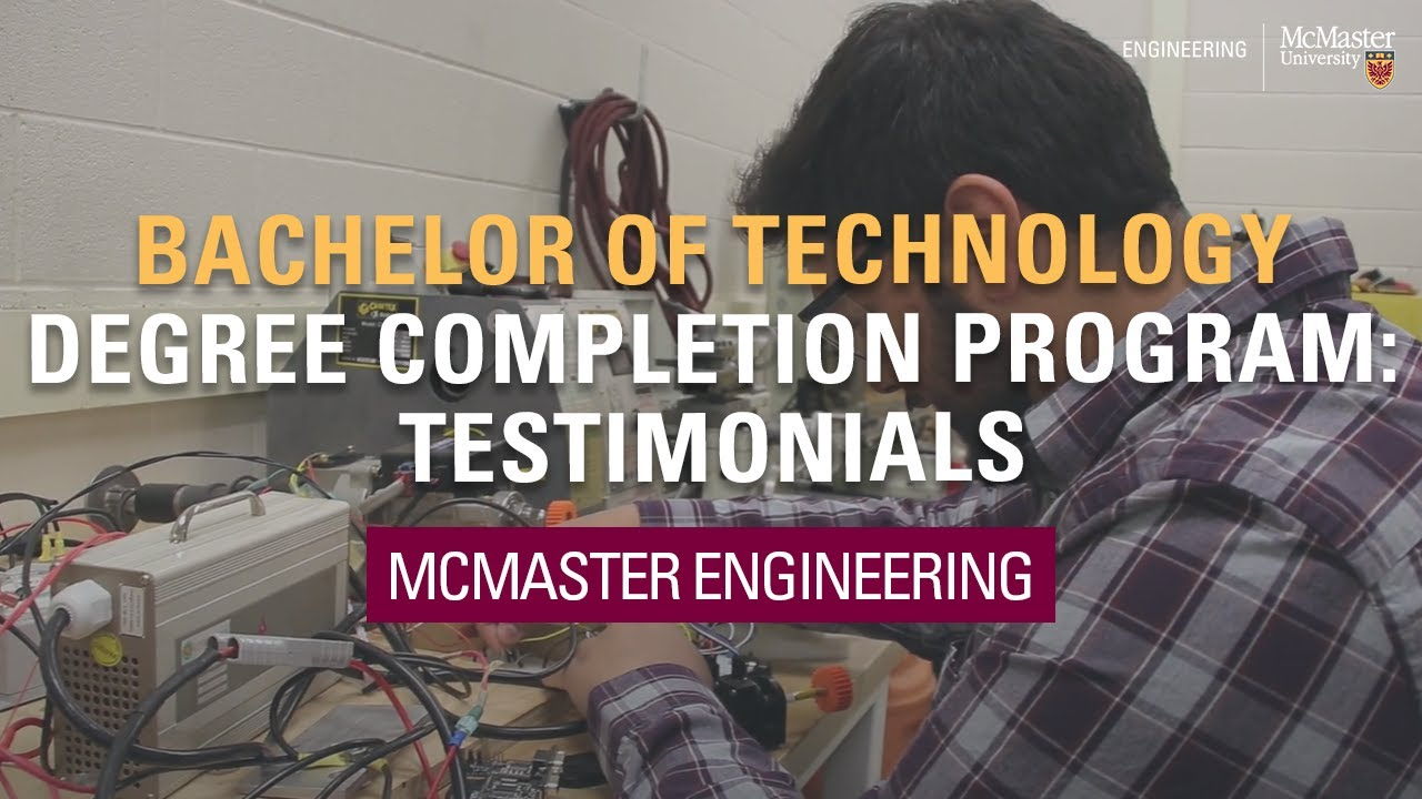 Bachelor Of Technology W Booth School Of Engineering Practice And Technology
