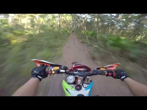 Random two stroke encounter in Ocala Florida trails