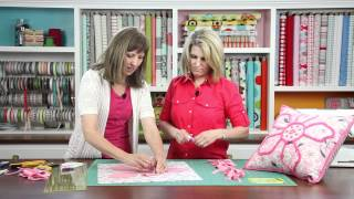 How-To-Quilt Series: Chenille Applique (5 of 9)
