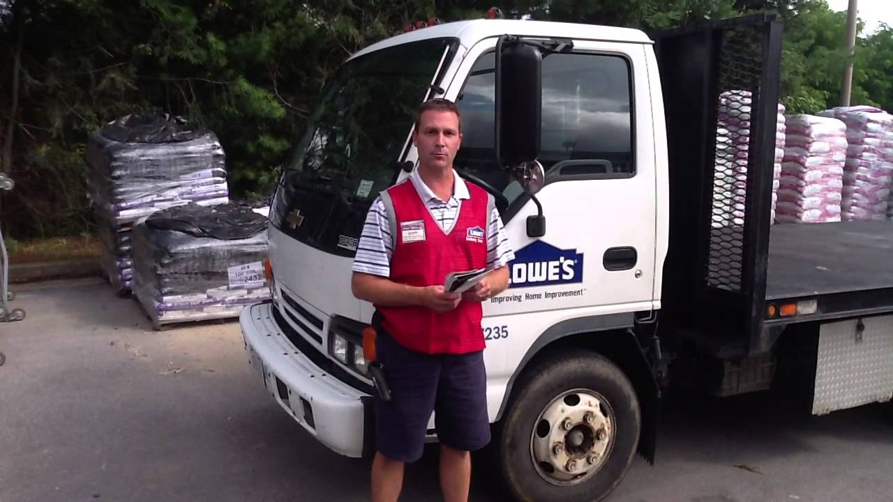 Lowes 737 Delivery