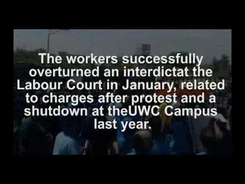 143 Dismissed Security Guards at UWC | Workers Struggle is Students Struggle