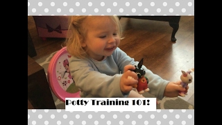 POTTY TRAINING 101 - Hints & Tips to Make the Transition Less Stressful! | My Fashion Cupboard Baby
