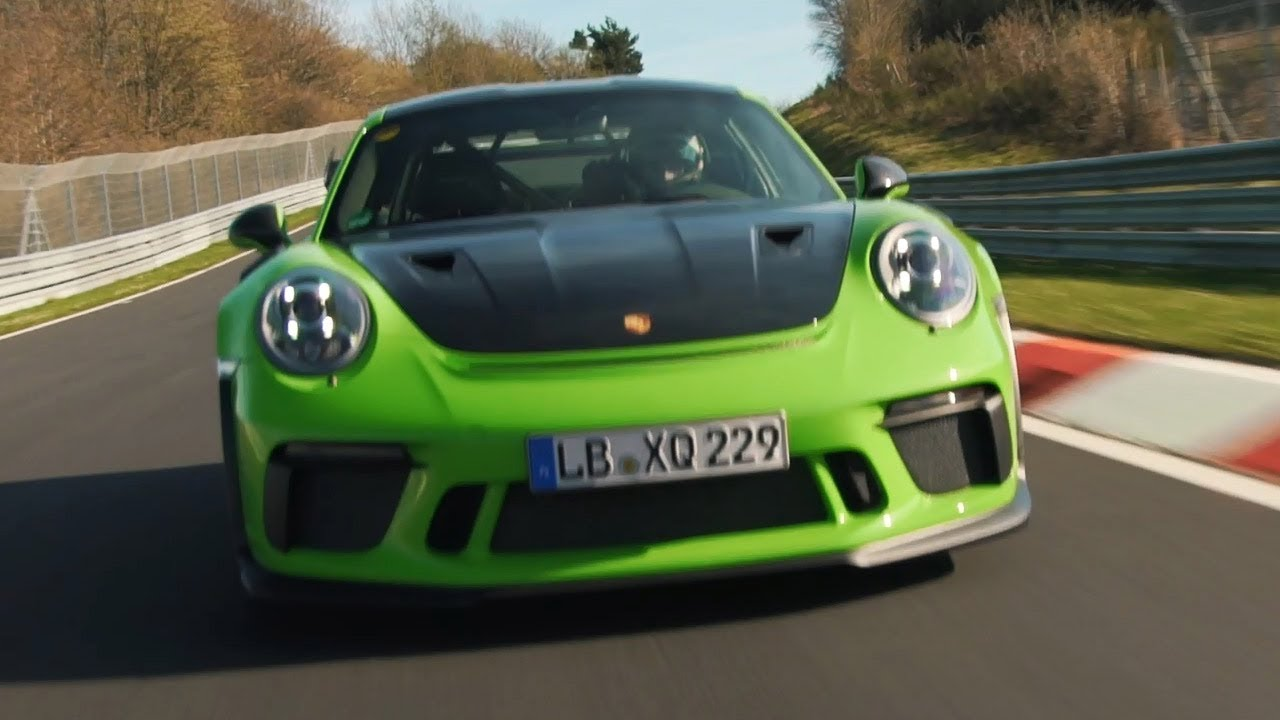 2019 Porsche 911 Gt3 Rs Sets New Nurburgring Lap Time Youtube