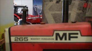 Massey Ferguson at Coventry Transport Museum, UK