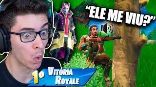 ELE FICOU COM MEDO DA MINHA SKIN E SAIU CORRENDO! Fortnite: Battle Royale