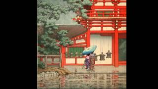 「 旅情の版画家   川瀬 巴水の世界 」 photo movie : Hasui Kawase HD