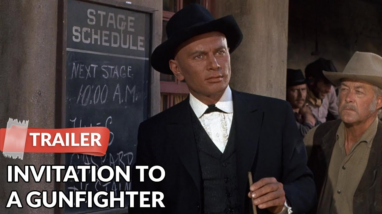 Invitation to a gunfighter 1964 trailer yul brynner youtube invitation to a gunfighter 1964 trailer yul brynner stopboris Gallery