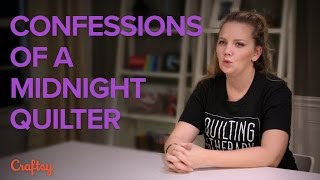 Confessions of a Midnight Quilter | Angela Walters from the Midnight Quilt Show