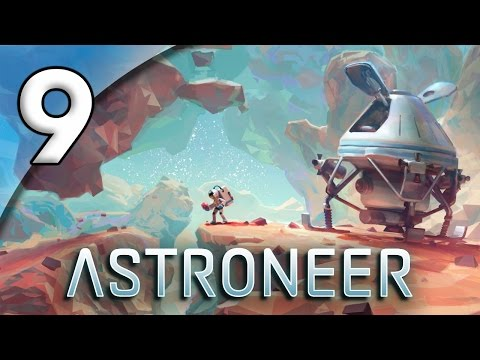 Astroneer - 9. Subterranean Research Outpost - Lets Play Astroneer Gameplay