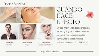 Botox, Aplicación por el Doctor Luis Carlos Moreno