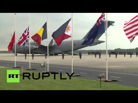 Netherlands: More bodies of MH17 victims arrive in Holland