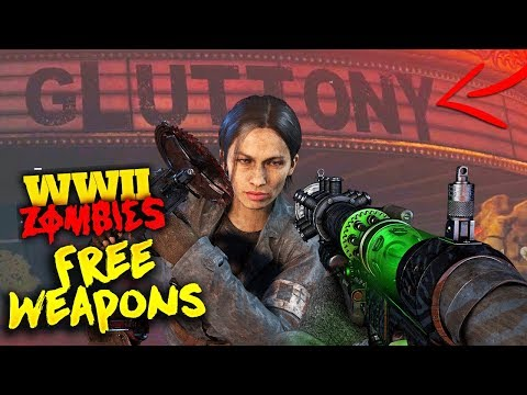 Free Ripsaw, Tesla Gun, Jack Boxes and Power Ups Easter Egg on The Shadowed Throne (WWII Zombies)