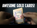 AWESOME GOLDEN YUGIOH CARDS! - Dark Side of Dimensions Movie Packs