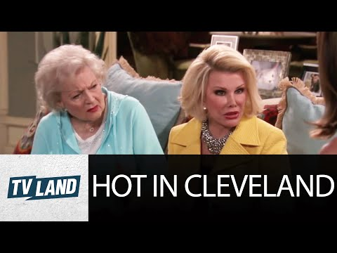 Long Lost Twin Sisters Joan Rivers & Betty White | Hot in Cleveland Highlight | TV Land