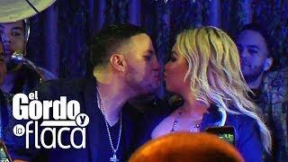 Chiquis Rivera y su ex, Lorenzo Méndez, se besan en el escenario | GyF