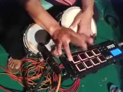 Kolaborasi tabla dan kendang listrik