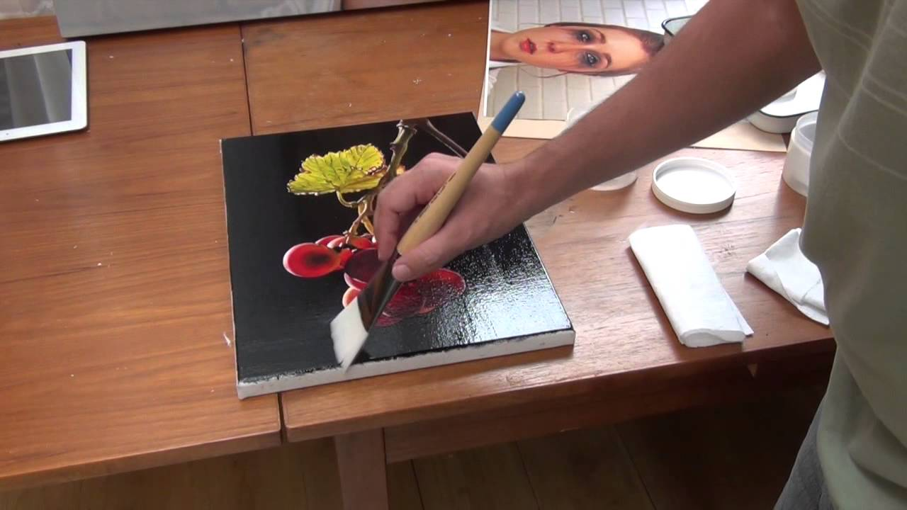 Youtube How To Varnish An Oil Painting