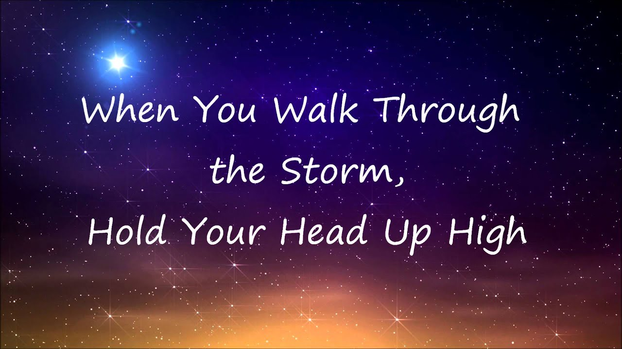 Try To Be A Rainbow Quote Desktop Wallpaper You Ll Never Walk Alone Celtic Woman Lyrics Youtube
