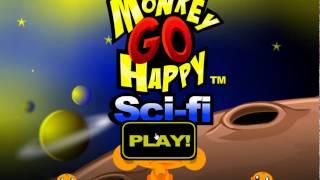Игра Счастливая обезьянка Научная фантастика прохождение Monkey GO Happy Sci-fi Walkthrough