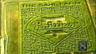 N.J. Farm Celebrates Phillies With Corn Maze