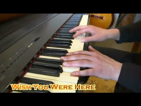 Wish You Were Here Pink Floyd Piano Lesson Part 1 Youtube