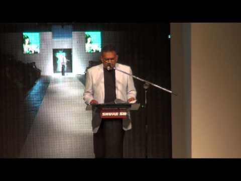 Fijian Minister for Industry and Trade, Hon. Faiyaz Koya, officiates Fiji Fashion Week