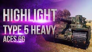 Когда размер имеет значение. Type 5 Heavy в World of Tanks