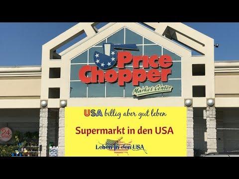 Normaler Supermarkt in den USA - Leben in den USA und Einkaufen