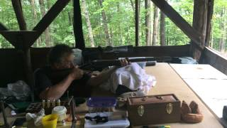 Alexander Henry 8b Double Rifle - Right Barrel Shot 23 Aug 2014