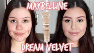 First Impressions | Maybelline Dream Velvet Foundation (Oily/Acne)
