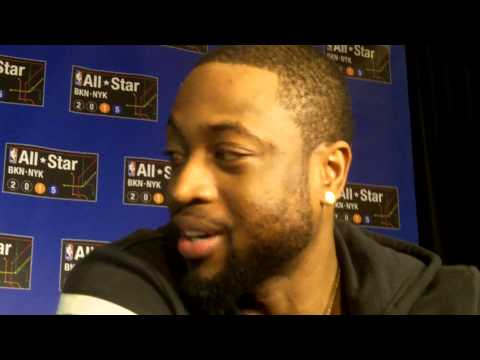 Dwyane Wade talks LeBron James, Gabrielle Union, Chris Bosh