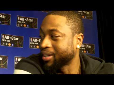 Dwyane Wade talks LeBron James, Gabrielle Union, Chris Bosh