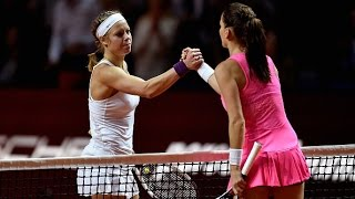 2016 Porsche Tennis Grand Prix Semifinals WTA Highlights