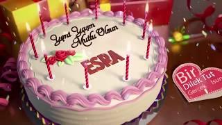 İyi ki doğdun ESRA - İsme Özel Doğum Günü Şarkısı