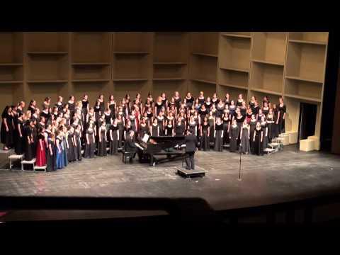 06   Children Go Where I Send Thee - CA ACDA All-State Choir Women's choir 2014