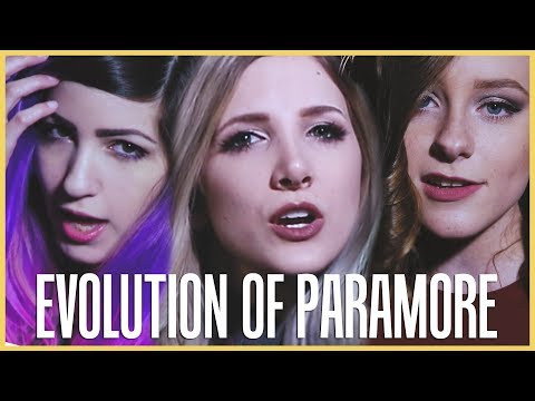 Evolution of Paramore - Mashup By Halocene ft Terabrite and First To Eleven