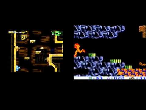 AM2R vs Metroid II